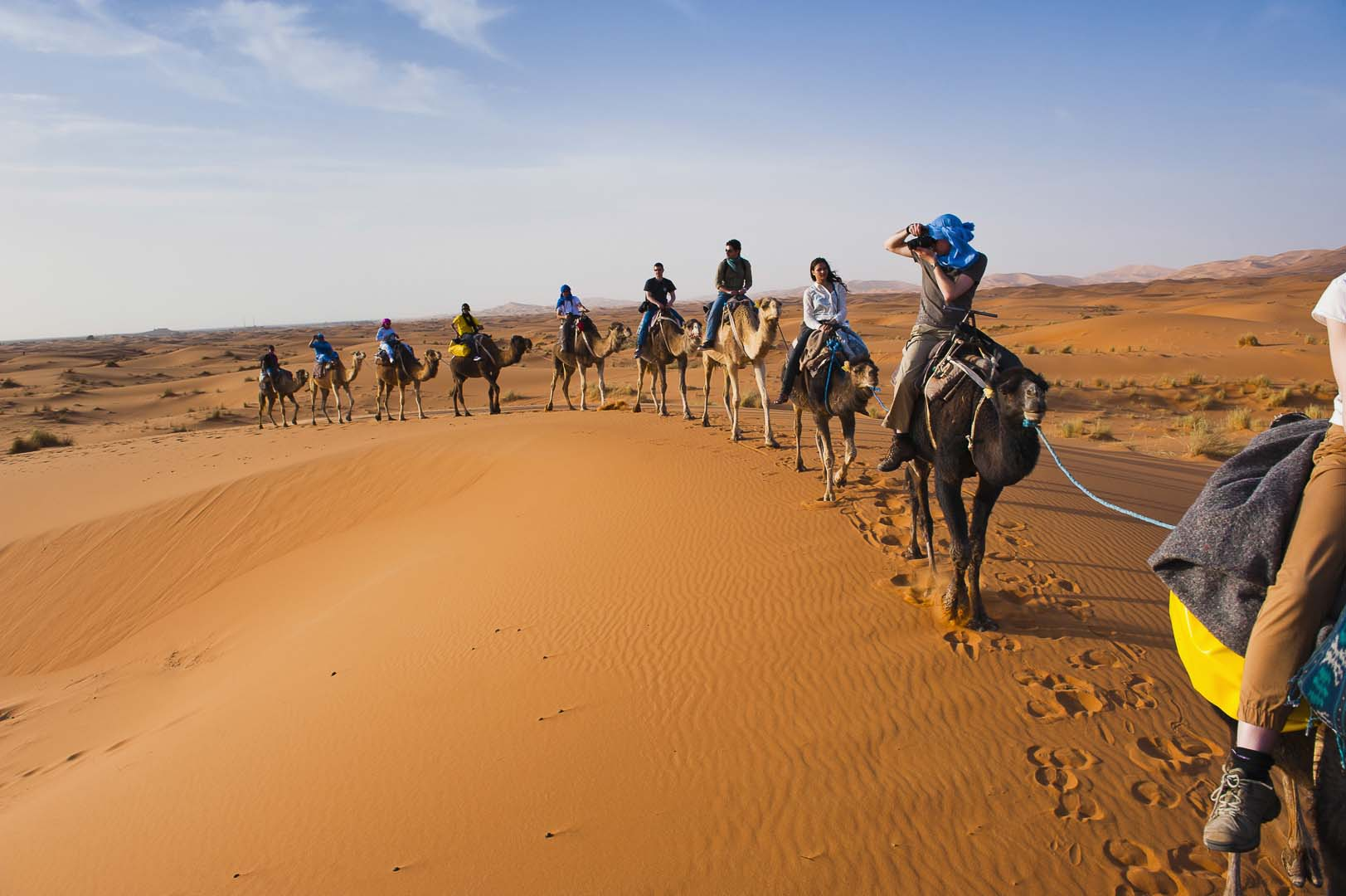 Camel Trek 1 Night in Desert